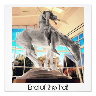 """End of the Trail  6"""" x 6"""" Photo"""