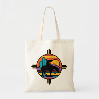 End of the Trail Native American Indian Budget Tote Bag