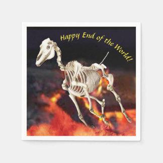 End Of The World Apocalypse Party Napkins Paper Napkin