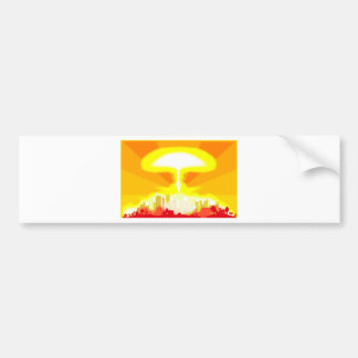 End of the World Bumper Sticker