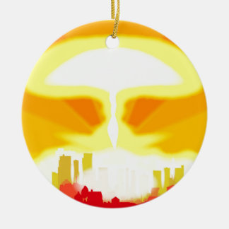 End of the World Christmas Ornament