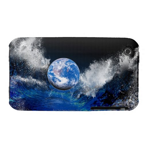 End of the World, conceptual computer artwork iPhone 3 Case-Mate Cases