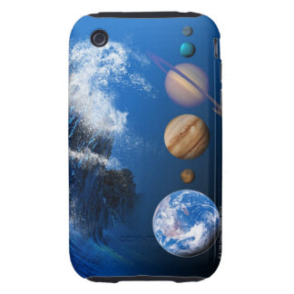 End of the World in 2012 conceptual computer iPhone 3 Tough Cover