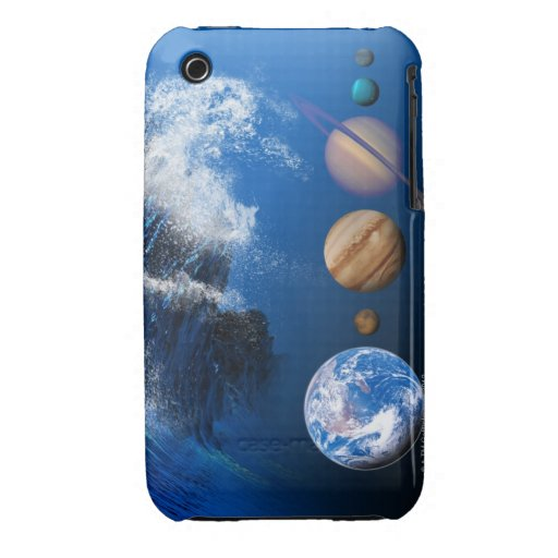 End of the World in 2012 conceptual computer iPhone 3 Case-Mate Case