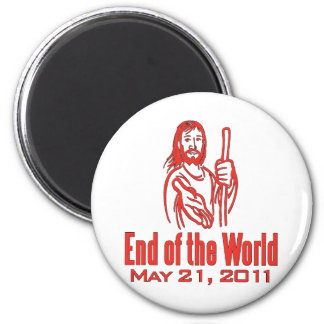 End of the World May 21, 2011 6 Cm Round Magnet
