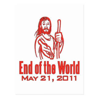 End of the World May 21, 2011 Postcard