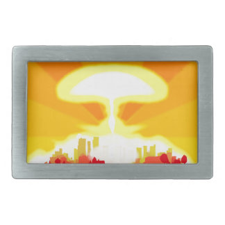 End of the World Rectangular Belt Buckle