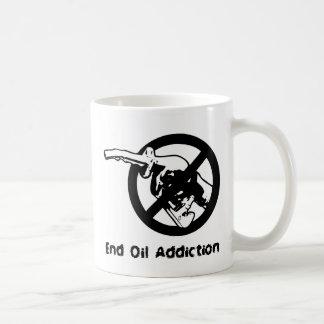 End Oil Addiction Coffee Mug