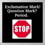End Punction Poster