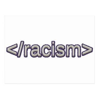 End Racism Postcard