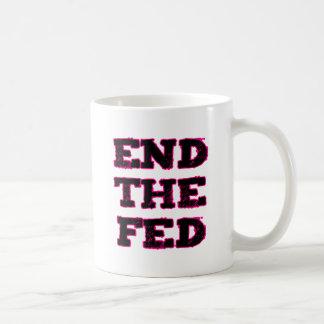 End The Fed Basic White Mug