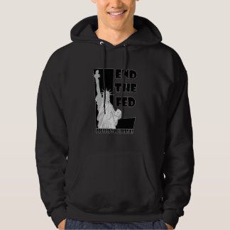 End The FED(black) Hoodie