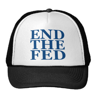 End the Fed - Blue Hat