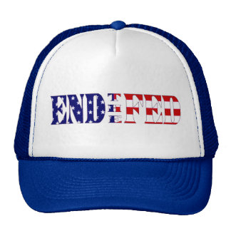 End the Fed Cap Blue Trucker Hat