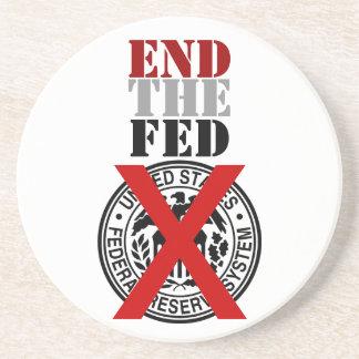 End The Fed - Coaster