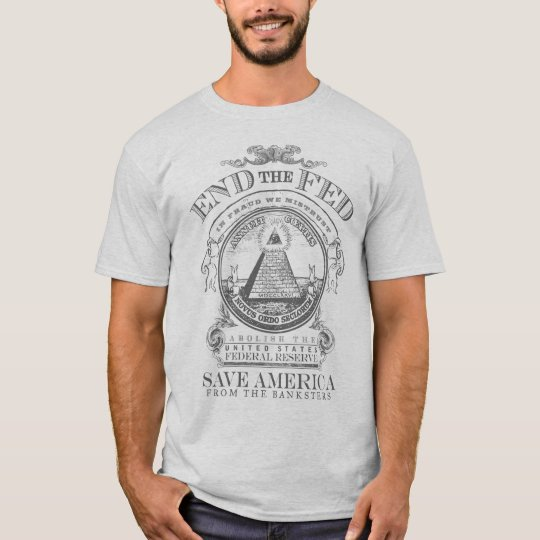 End The Fed Customisable Rally T-Shirt