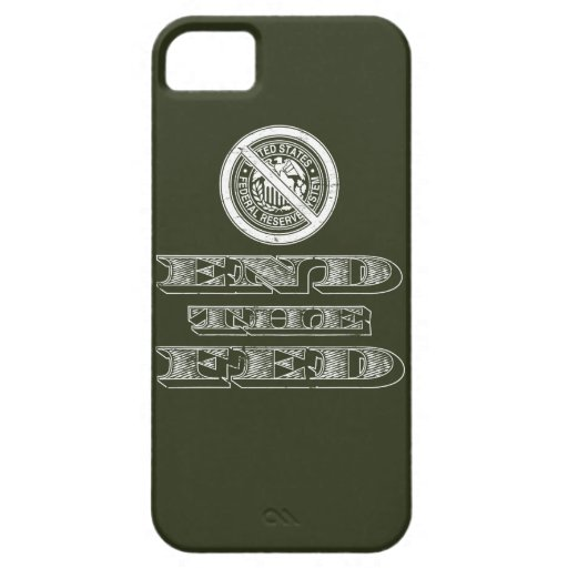 End the Fed Federal Reserve Libertarian iPhone 5 Cover