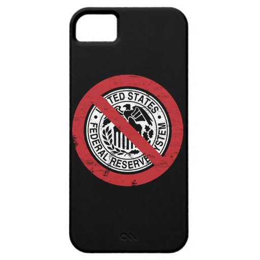 End the Fed Federal Reserve Libertarian iPhone 5 Covers