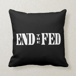 END THE FED Federal Reserve Quotes & Citations 2 Cushions