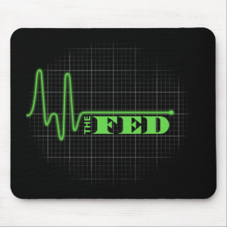 End the Fed Flat lined Mouse Pads