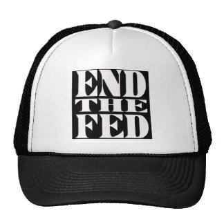 End The Fed Trucker Hats