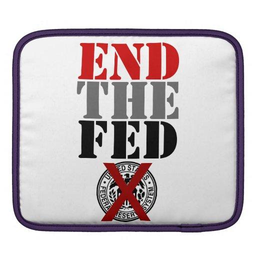 End The Fed - iPad Sleeve