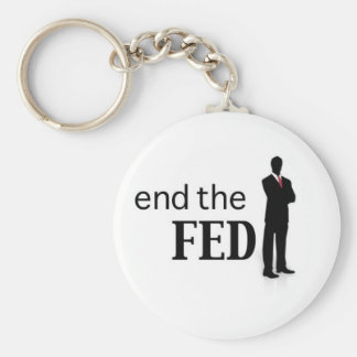 End the FED key chain