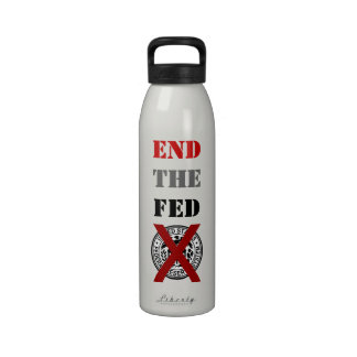 End The Fed - Liberty Bottle Water Bottles