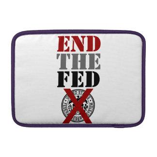 End The Fed - MacBook Case MacBook Sleeves