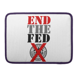 End The Fed - MacBook Case with Flap Sleeve Sleeve For MacBooks