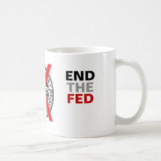 END THE FED - Mug - colour - with FED Logo