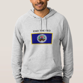 END THE FED Pullover Hoodie