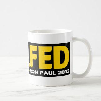 End the Fed! Ron Paul 2012 Mug