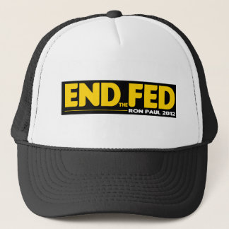 End the Fed! Ron Paul 2012 Trucker Hat