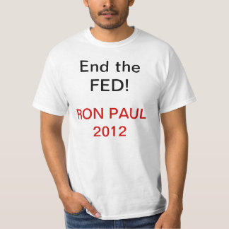 End the fed tees