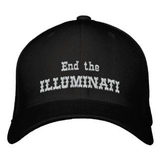 End the illuminati embroidered hat