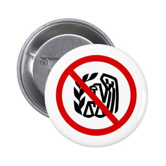 End The IRS 6 Cm Round Badge