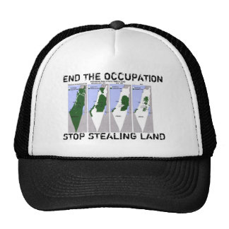 End the Occupation Mesh Hat