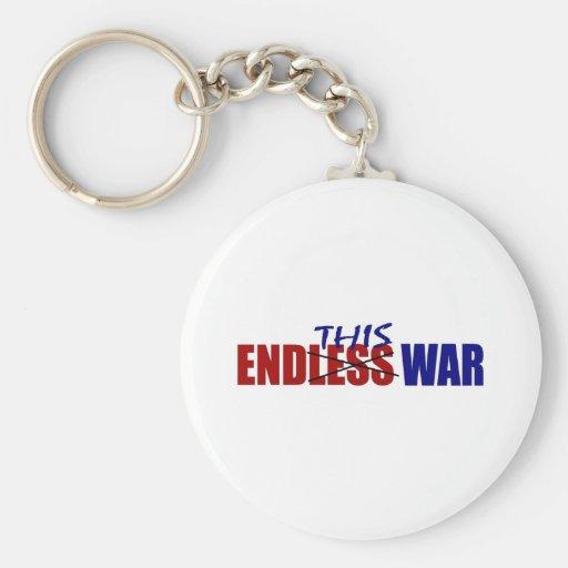 End This War Keychain