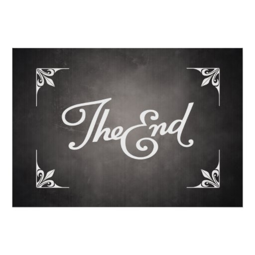 End Title Card poster