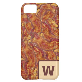 End-to-End Bacon (with letter) iPhone Case iPhone 5C Cover