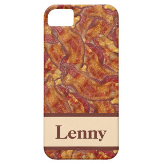 End-to-End Bacon (with name) iPhone Case iPhone 5 Covers