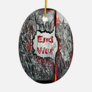 End War Christmas Tree Ornaments