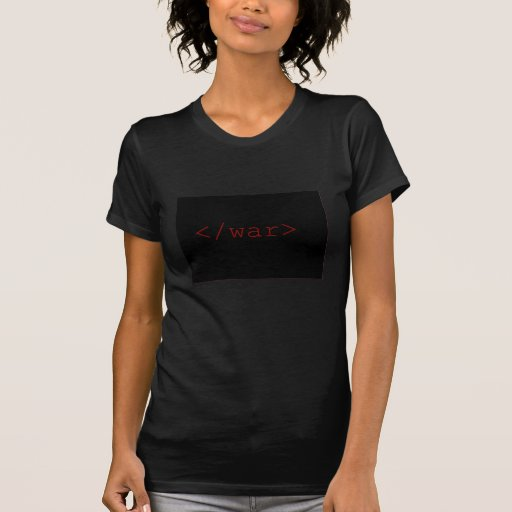 End War (in HTML) T-Shirt