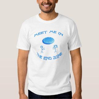 End Zone Frisbee Tshirts