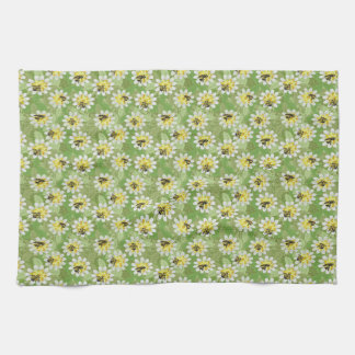 Endangered Bumble Bees Tea Towel