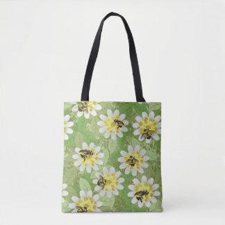 Endangered Bumblebees Tote Bag