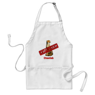 Endangered Cheetah Products Aprons