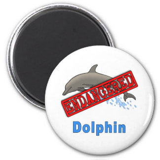 Endangered Dolphin Products Magnets