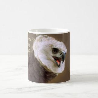 Endangered Harpy Eagle Basic White Mug